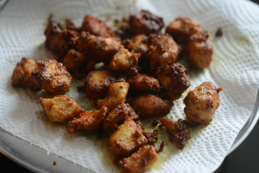 easy chicken fry recipe, how to make chicken fry