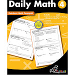 Creative Teaching Press GR4 Daily Math Workbook CTP8190