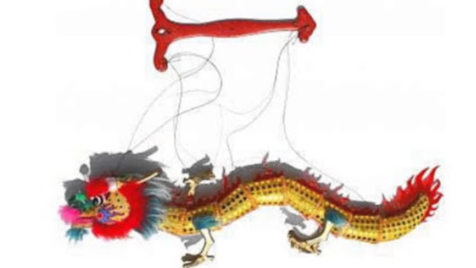 Chinese Festival Dragon Puppet
