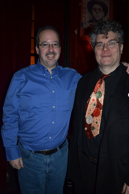 Photos from Feb 15th with Michael Cisco & Nicholas Kaufmann