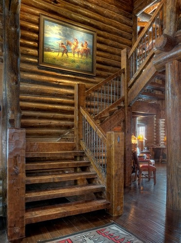 Rustic Stairs Design, Pictures, Remodel, Decor and Ideas - page 3