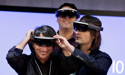 Microsoft's HoloLens may be the least stupid pair of smartglasses yet