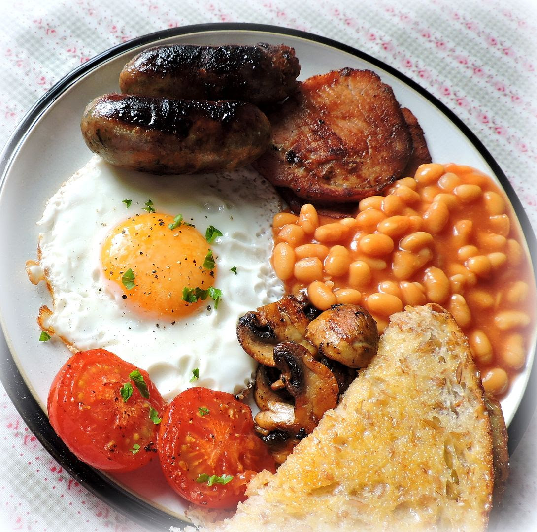 A Traditional British Fry Up