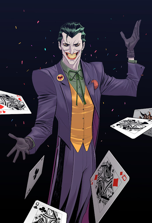 Design Story — Classic Joker  [[MORE]] (by Dan Mora)  ...