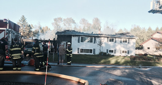 Fire severely damages Marshfield home