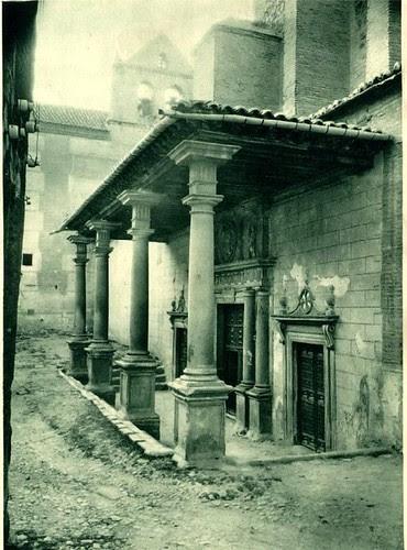 Convento de Santo Domingo el Real de Toledo. Pórtico en 1925