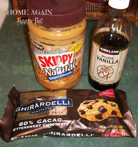 "SIMPLY DELICIOUS PEANUT BUTTER ""CUPS"" – HOME AGAIN Jiggety-Jig!"