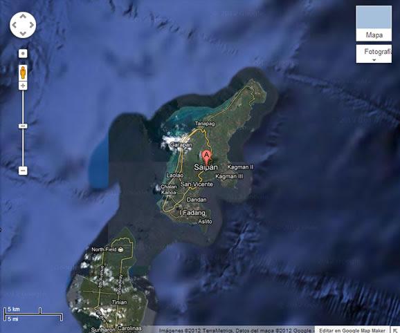 Isla de Saipán
