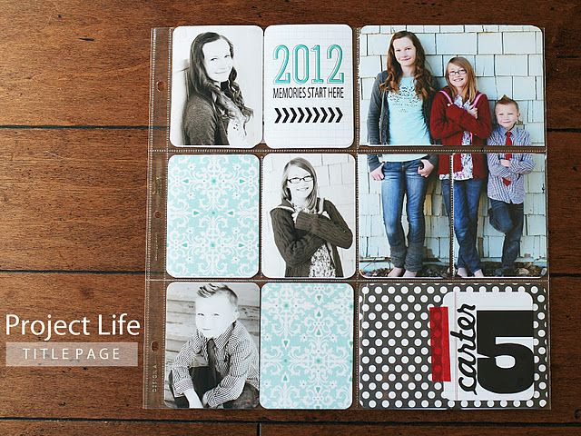I want to split some pictures like this! #projectlife eighteen25