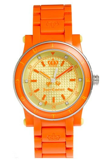 Neon Orange JUICY COUTURE Watch ☻                                                                                                                                                                  ⇜•ṄεΦЙ❉€яᗛƶΣ•⇝