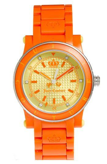 Neon Orange JUICY COUTURE Watch ☻                                                                                                                                                                  ⇜•ṄεΦЙ❉€яᗛƶΣ•⇝