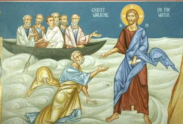 Αποτέλεσμα εικόνας για Ο Ιησούς περιπατών επί της θαλάσσης