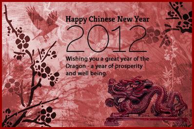 Happy Chinese New Year 2012