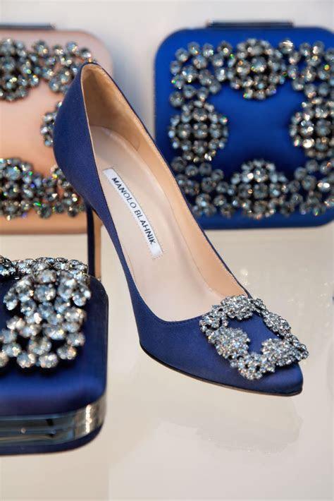Carrie Bradshaw's wedding shoe, Hangisi by Manolo Blahnik