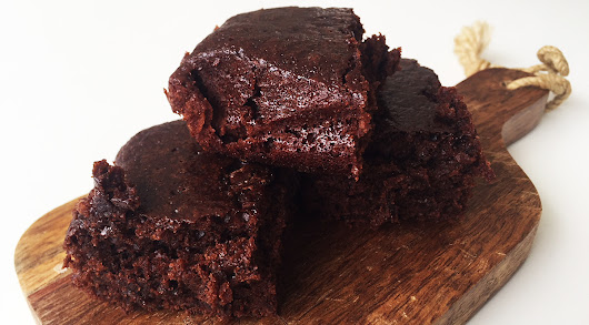 Easy Vegan Brownies - No eggs, no milk, no butter