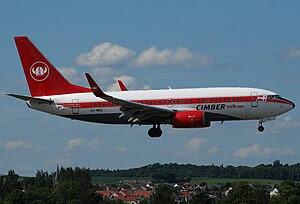Cimber Sterling Boeing 737-7L9 OY-MRG at Edinb...