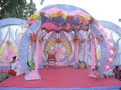 mandap decoration with flowers and banana leaves   Google