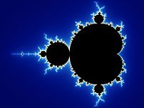 Initial image of a Mandelbrot set zoom sequenc...