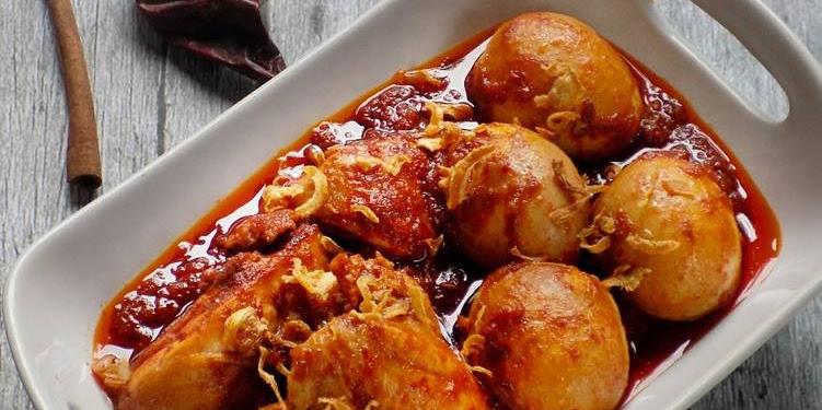 Resep Ayam & Telur Masak Habang (otentik Khas Banjarmasin) Oleh Mei Basuki
