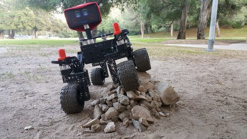 Build your own NASA Curiosity rover - Raspberry Pi