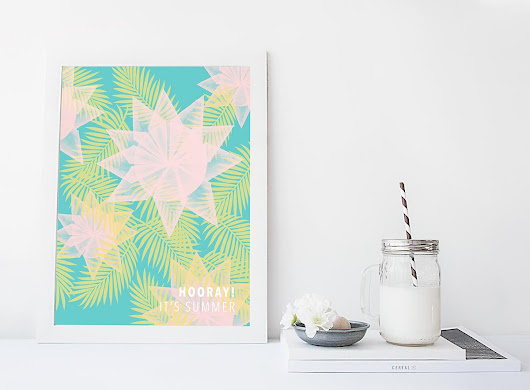 15 DIY Ideas to add color to your home decor - kraft&mint blog