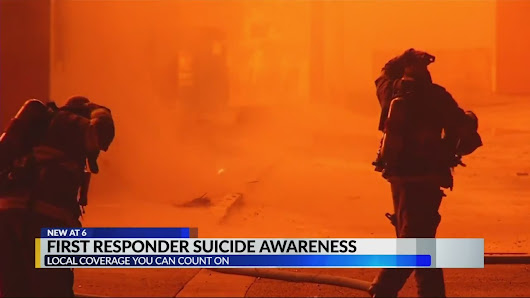 Local first responders working to change the rising suicide rate of first responders