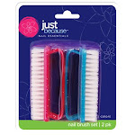 FLP 9323 Just Because Nail Brush - 2 Pack Pack Of 16