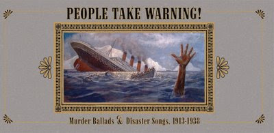 Album cover for People Take Warning