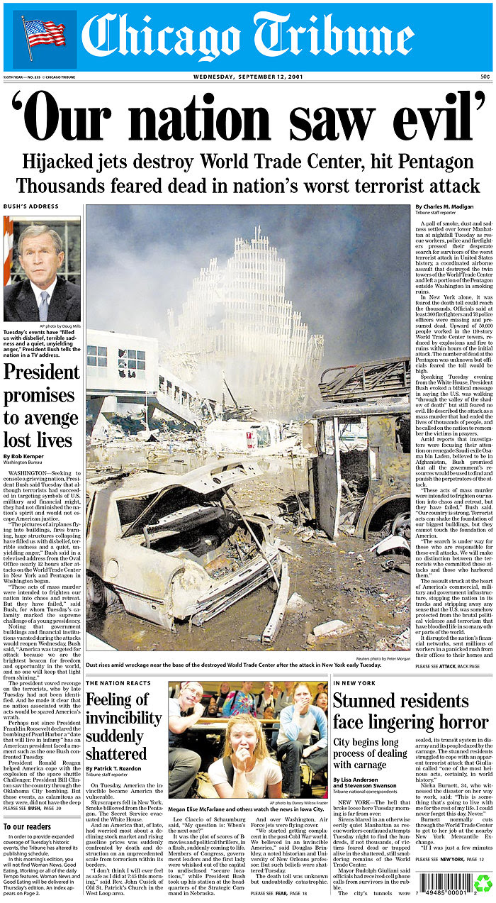 Image result for 9/11 2001 in Chicago