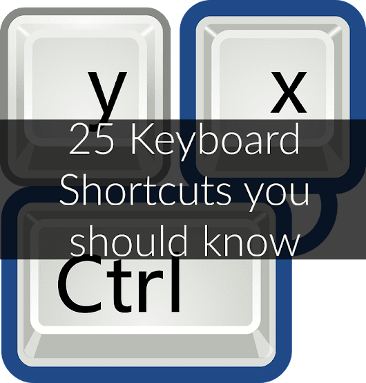 Windows Keyboard Shortcuts with CTRL