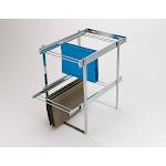 Rev-A-Shelf RAS-FD Series 2 Tier Standard Height Base Cabinet Organizer, Chrome by VM Express