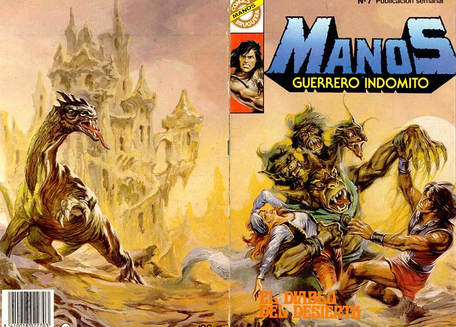 Manos Guerrero Indomito, Cover #7