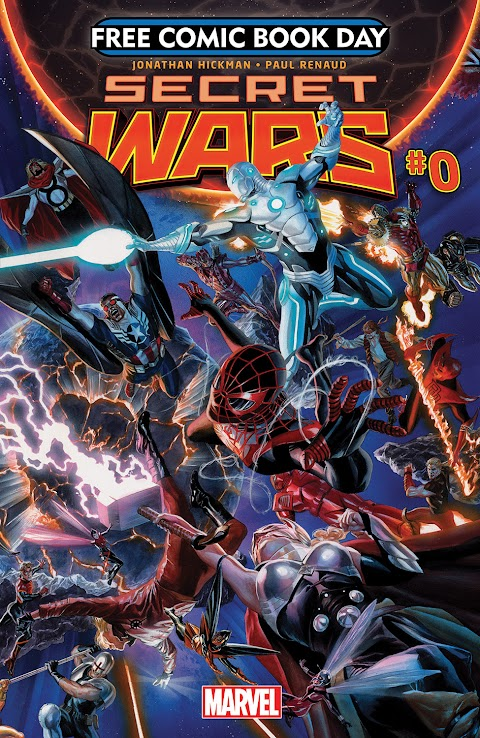Secret Wars Free Comic Book Day