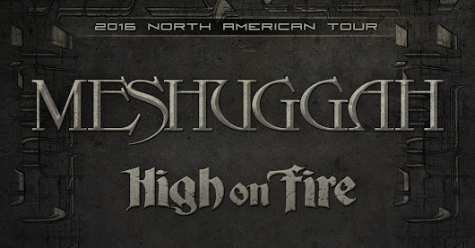 Meshuggah at The Fillmore Silver Spring Ticket + Merch Giveaway