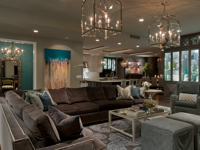 Austonian Luxury Condo - contemporary - living room - austin - by