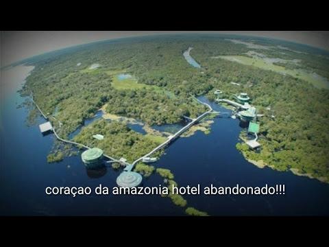 Hotel abandonado na selva amazônica