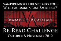 Vampire Academy Re-Read Challenge