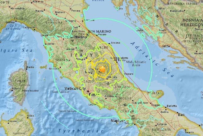 Risultati immagini per terremoto 18 gennaio 2017  marche