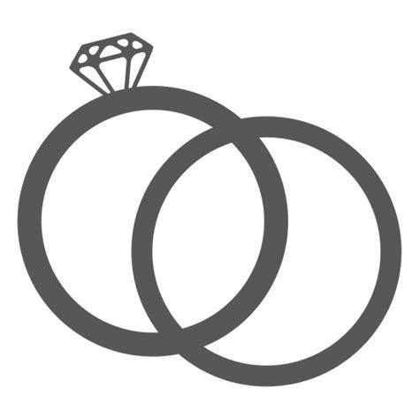 Wedding ring icon   Transparent PNG & SVG vector