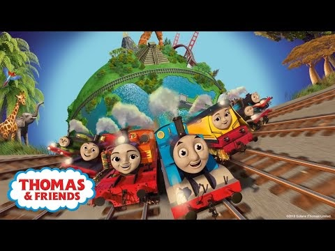 Nickalive Thomas Amp Friends Big World Big Adventures
