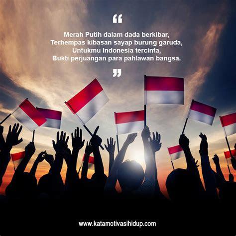 kata motivasi kemerdekaan  membangkitkan semangat