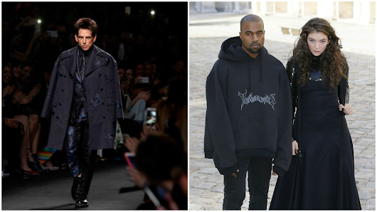 Zoolander, Goth Kanye West and 5 more amusing moments from Paris Fashion Week