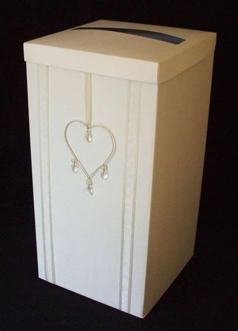 Large Handmade Vintage Heart Wedding Card Post Box wishing