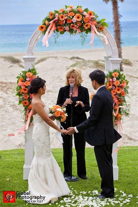 Beach Wedding Ceremony at Embassy Suites Mandalay Beach