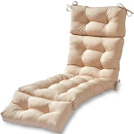Driftwood Outdoor Chaise Lounger Cushion by Havenside Home stone