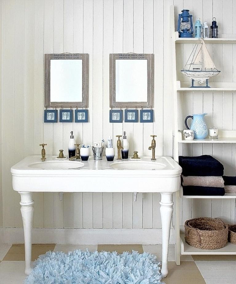 15 Beach Themed Bathroom Design Ideas - Rilane