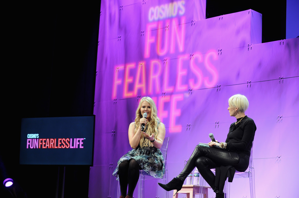Left: Bella Weems, Founder of Origami Owl Right: Joanna Coles, Editor-in-Chief, Cosmopolitan Magazine, US