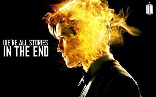 Were All Stories In The End Quote On Doctor Who