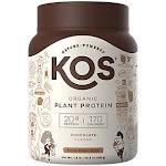 KOS Protein Powder Chocolate Organic 20.6 Ounce