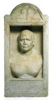 Cipo del sepulcro de C. Iulius Helios